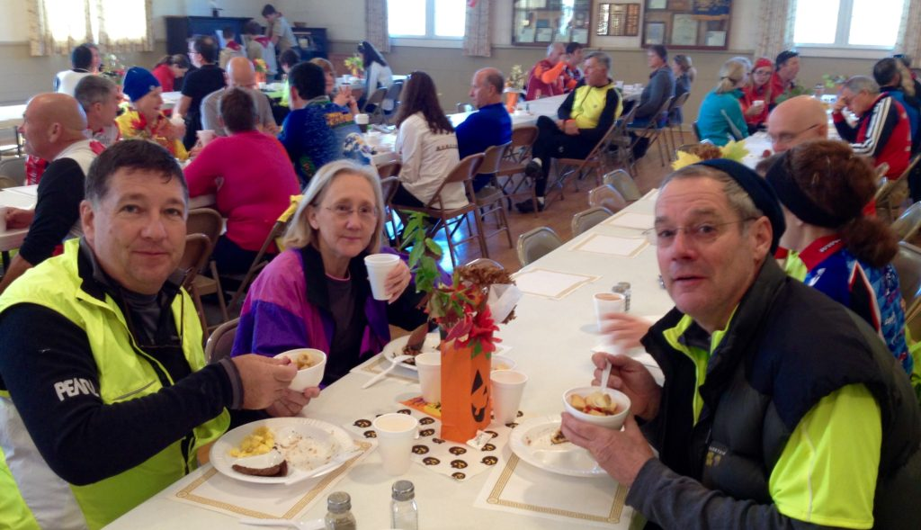 Riders enjoy brunch at Middlebrook Community Center