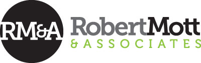 Robert Mott & Associates branding and marketing design