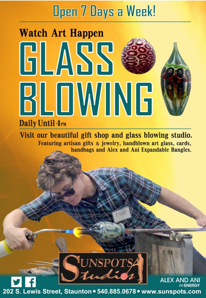 Sunspots Glassblowing Studios