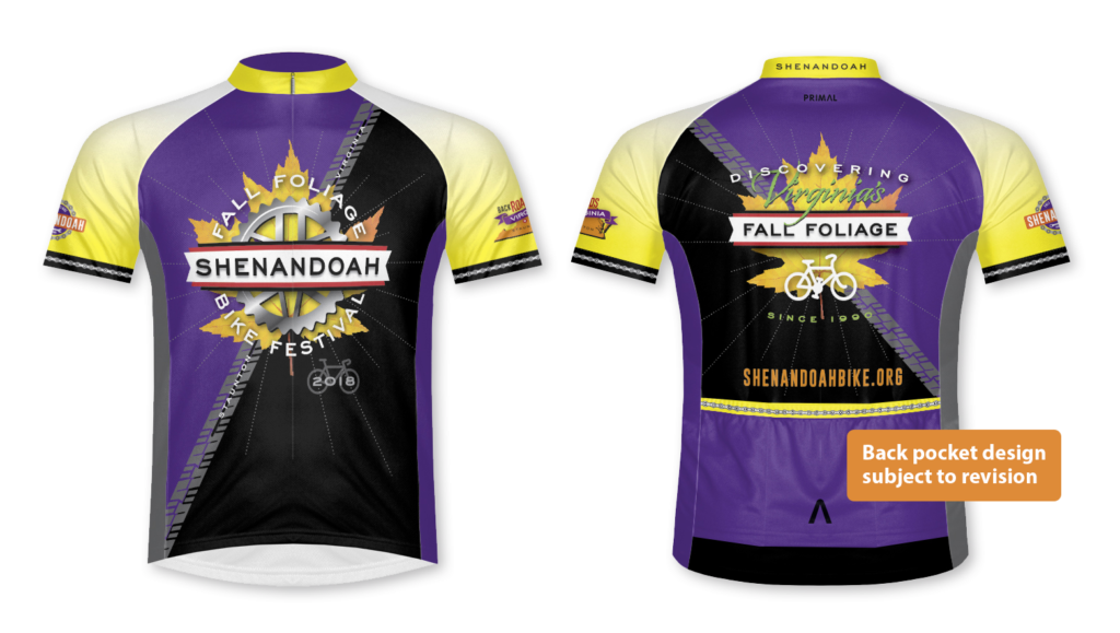 Fall Foliage Bike Festival Jersey comps