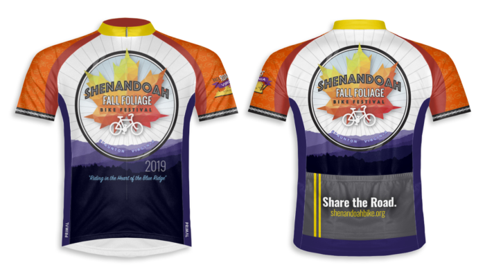 2019 Fall Foliage Bike Festival Jersey